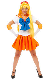 amazon com sailor moon venus costume clothing