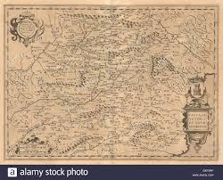Toledo Spain Map by Castiliae Veteris U0027 Ancient Castile Spain Mercator Hondius 1606