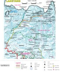 Porter Airlines Route Map by Langtang Valley Trek Langtang Trek Trekking In Langtang
