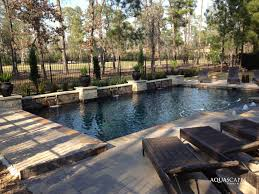 custom pools u0026 spas aquascapes houston pool builder 281 845 2458