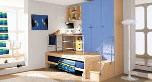 Cool And Contemporary Boys Bedroom Ideas In Blue - Cool boys bedroom designs