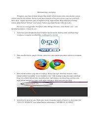 cara membuat blog tulisan cara membuat blog wordpress