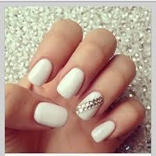40 adorable rhinestones accent nail ideas