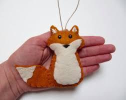 fox ornament decor fox ornament