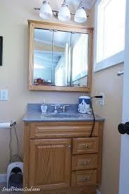 Bathroom Makeover On A Budget - master bathroom makeover reveal on a 100 budget small home soul