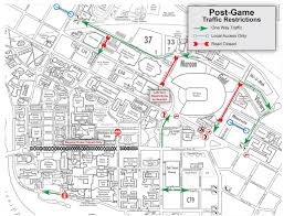 Map Of Nebraska Cities Gopher Football Gamedays Parking U0026 Transportation Services