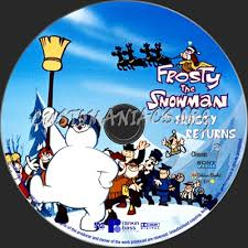 frosty snowman frosty returns dvd label dvd covers u0026 labels
