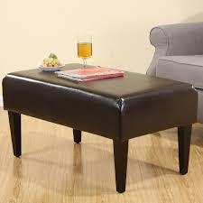 Leather Bench Ottoman by Leather Bench Ottoman Reviews Online Shopping Leather Bench