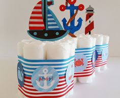 anchor theme baby shower 3 tier nautical cake ahoy it s a boy baby shower nautical
