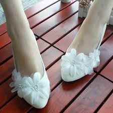 princess wedding shoes shop selling aesthetic white flower princess wedding