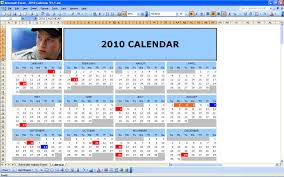 Excel 2010 Calendar Template All Templates 12 Month Calendar Template