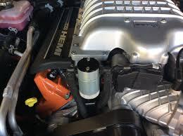 hellcat engine block jlt oil catch can srt hellcat forum