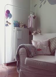 chambre fille style romantique design interieur idée décoration élégante chambre fille
