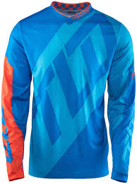 motocross jerseys troy lee designs gp quest jersey blau orange motocross jerseys