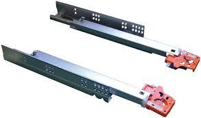 amortisseur tiroir cuisine coulisse à amortisseur en acier zingué pour tiroir en bois p 500 mm