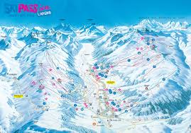 Italy Mountains Map by Trail Map Livigno U2013 Carosello Mottolino