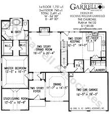 Foyer Plans Churchill House Plan House Plans By Garrell Associates Inc