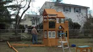 2014 cedar summit mount forest lodge playset from costco youtube