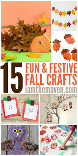 you u0027ll love these easy fall crafts for kids i am the maven