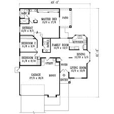 adobe southwestern style house plan 3 beds 2 00 baths 1600 sq
