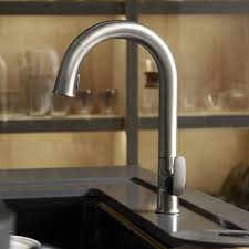 Upscale Kitchen Faucets Kitchen Stylish Pull Down 1 Handle Kitchen Faucet Adds An
