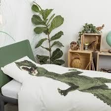 snurk bed linen set dinosaur rex