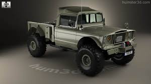 jeep gladiator military 360 view of jeep kaiser m715 olive drab ogre 1967 3d model hum3d