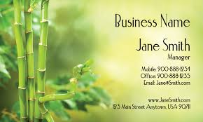 Massage Business Cards Examples Florist And Flower Shop Business Cards Printifycards Com
