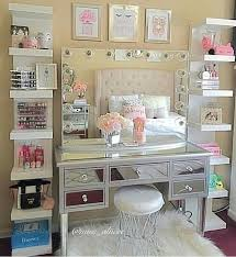 Vanity Makeup Desk With Mirror Best 25 Vanity Set Up Ideas On Pinterest Bedroom Dressing Table