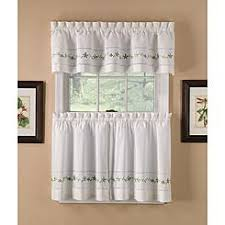 Cape Cod Kitchen Curtains by Tier Curtains Cafe Curtains Kmart