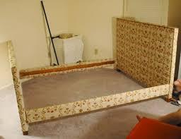 bedroom gorgeous bedroom upholstered headboard and footboard diy
