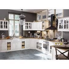 meuble bas d angle pour cuisine meuble bas d angle de cuisine ouverture droite en manguier ivoire