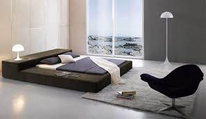 Contemporary Platform Bed Frame Best Wanda Wenge White Modern Platform Bed Contemporary Beds