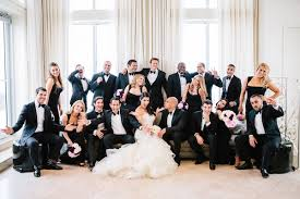 black and white wedding chic black and white wedding at the raleigh hotel miami