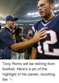 Tony Romo Meme Images - tony romo will be retiring from football here s a pic of the