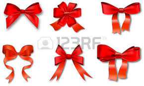 christmas gift bows ribbons set for christmas gifts gift vector bows with ribbons