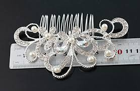 vintage comb kalaixing hair comb vintage simulated and pearl side