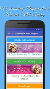 st anthony novena prayers android apps on play