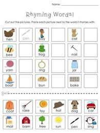 pictures on free printable kindergarten cut and paste worksheets