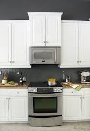 Charcoal Gray Kitchen Cabinets How I Transformed My Kitchen With Paint House Mix