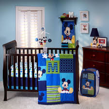 Mickey Mouse Toddler Bedroom Fascinating Baby Boys Bedding Nursery Room Deco Showing Alluring