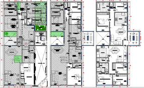 purpose of floor plan plan details of multi purpose super market dwg file