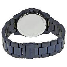 bracelet fossil steel images Fossil women 39 s perfect boyfriend blue stainless steel bracelet jpg