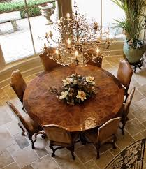 Best Staged Dining Rooms Images On Pinterest Home Kitchen - Formal round dining room tables
