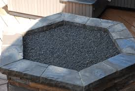 Fire Pit Rocks by How To Build A Natural Gas Or Propane Outdoor Fire Pit Using