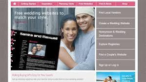 best wedding gift registry websites wedding website exles set up a wedding website tips venuelust