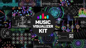 music visualizer kit after effects constructor template