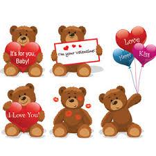 valentines bears teddy bears free vectors ui