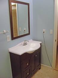 Vanities For Small Bathrooms Vanity With Sink White Concrete Table With Integral Sink Concrete