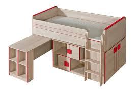 Schreibtisch 90 Cm Funktionsbett Kinderbett Hochbett Kombination Mit Bettkasten